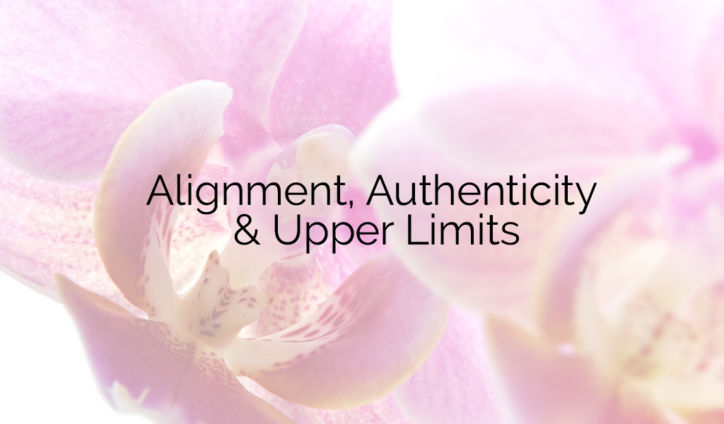 Authenticity, Alignment & Upper Limits (VIDEO)